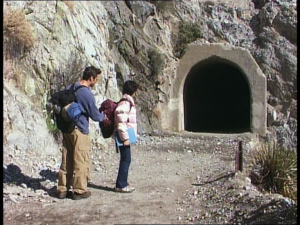 The ancient cave entrance